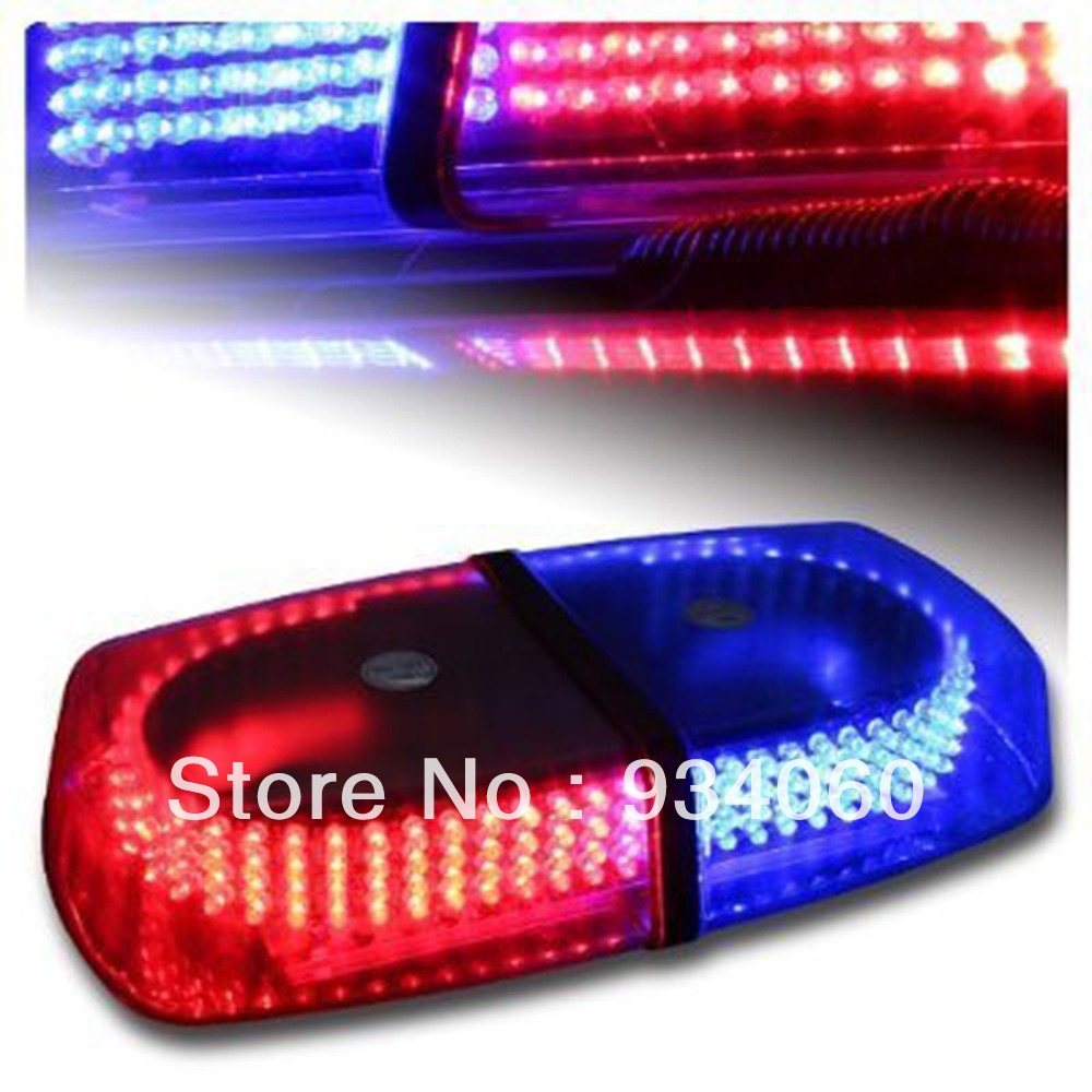 buy bright red blue 240 led strobe light. Black Bedroom Furniture Sets. Home Design Ideas