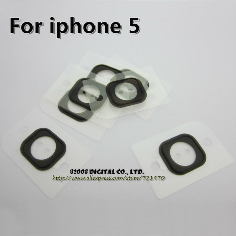 10pcs/lot Home Button Holder Rubber Gasket for iPhone 5 5G