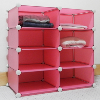 Wardrobe storage cabinet finishing frame child wardrobe shelf wardrobe coat storage tools(China (Mainland))