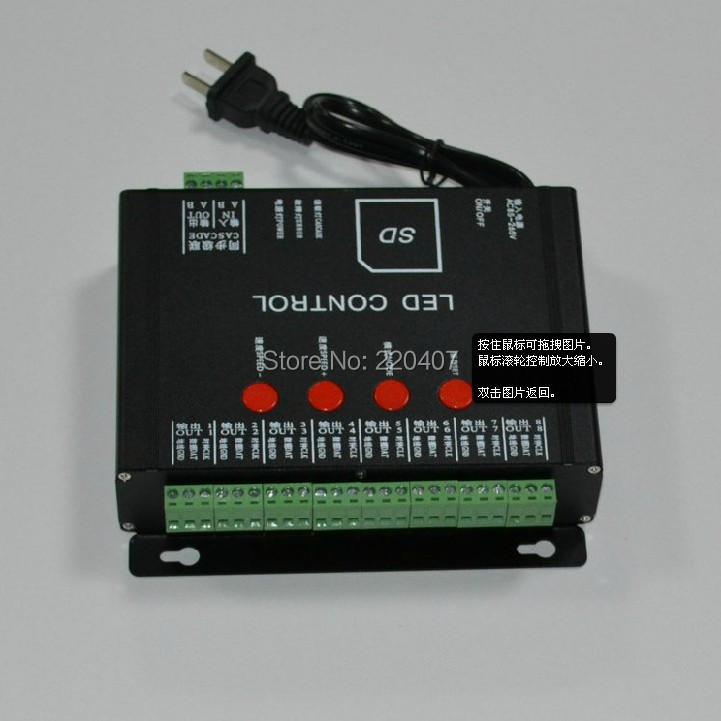 LED controller dimmer for 9mm 12mm LED Pixel Strings Light,  led programmable controller, LED full color waterproof controller<br><br>Aliexpress