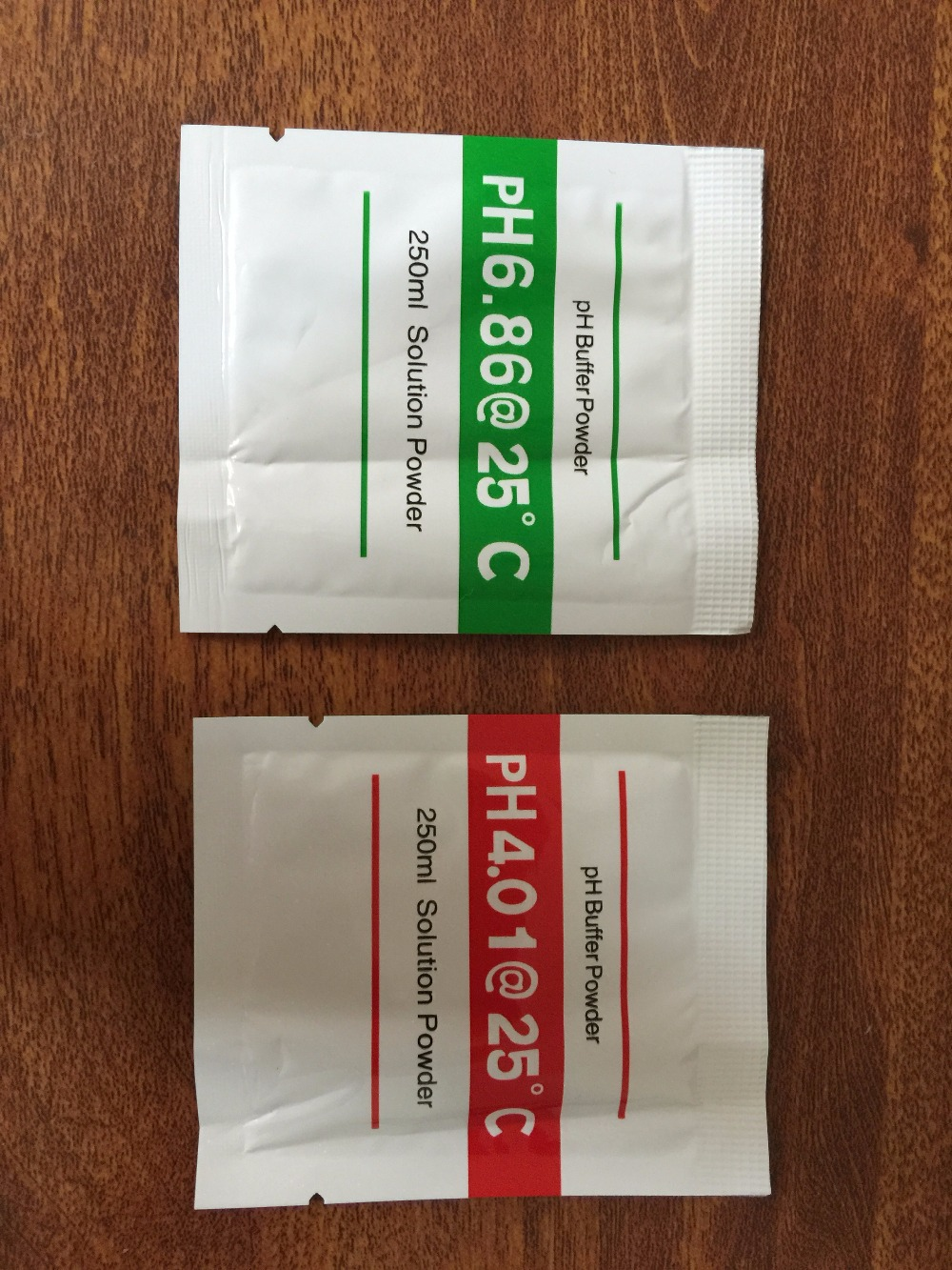 20pcs PH Buffer Powder for PH Test Meter Measure Calibration Solution 4.01 6.86pH