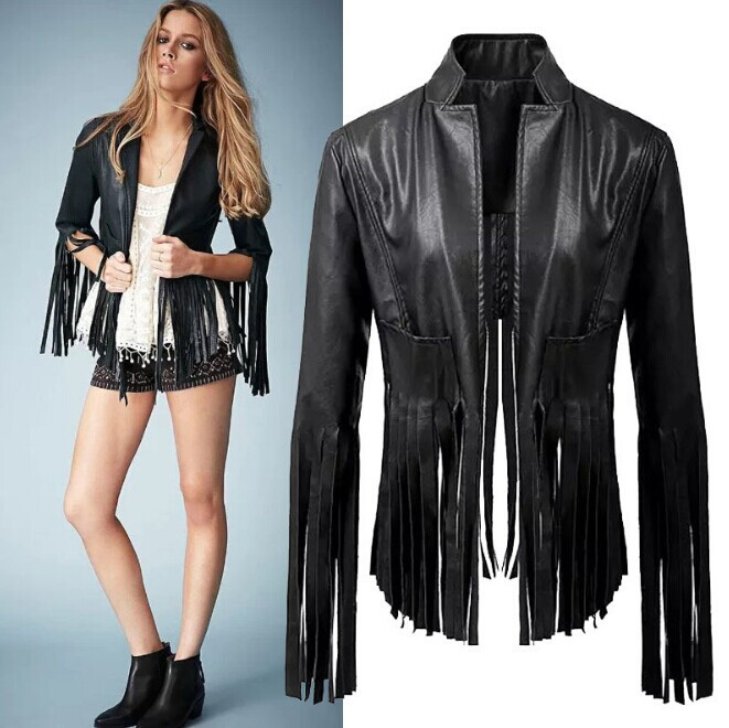Fringe leather jacket - ChinaPrices.net