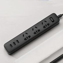 Buy 100% Original Xiaomi Power Strip 6 Outlet Socket 3 USB Extension Socket Plug Socket AU Standard Socket material PC for $16.59 in AliExpress store