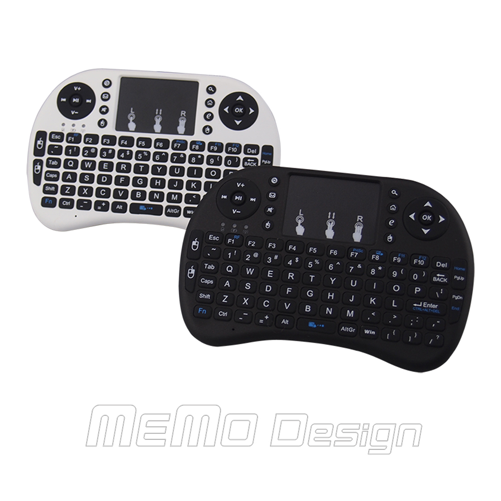 Mini Keyboard Rii i8 Russian English Air Mouse Multi-Media Remote Control Touchpad Handheld for Android TV BOX Notebook Mini PC(China (Mainland))