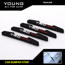 Yumseen Black Car Door Rubber protection Trim Molding Protection Strip Scratch Protector Clear rubber bumper strip - YOUNG E-COMMERCE CO.,LTD store