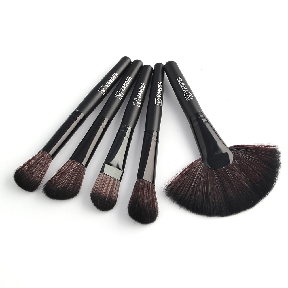 48hours Shipping, 32pcsset Black Profeesional Makeup Pinsel Face Lip Foundation Powder Cosmetic Make-up Kit + Pouch Bag (21)