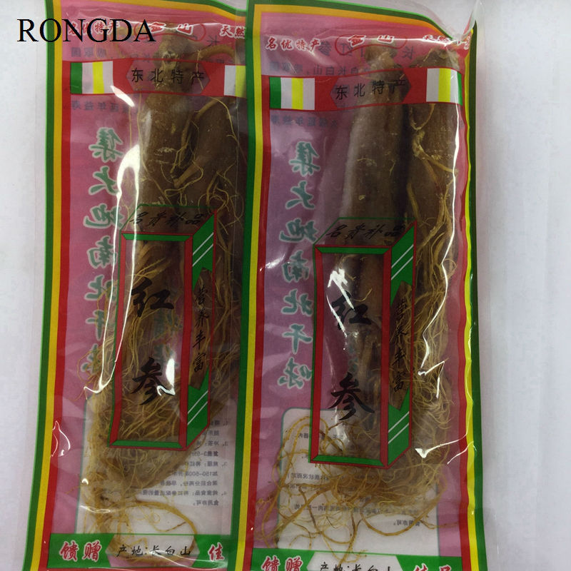 RONGDA Herbal Tea 100 g 100 organic 8 Years of red ginseng root panax ginseng tea