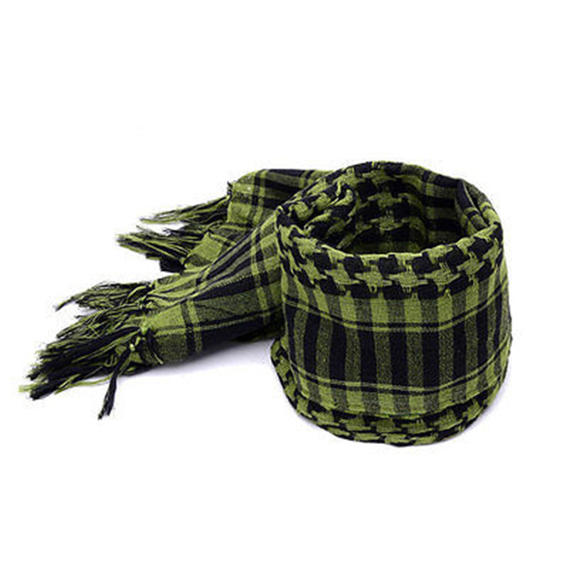 New Hot Army Military Tactical Keffiyeh Shemagh Arab Scarf Men's Head Wrap Scarves(China (Mainland))