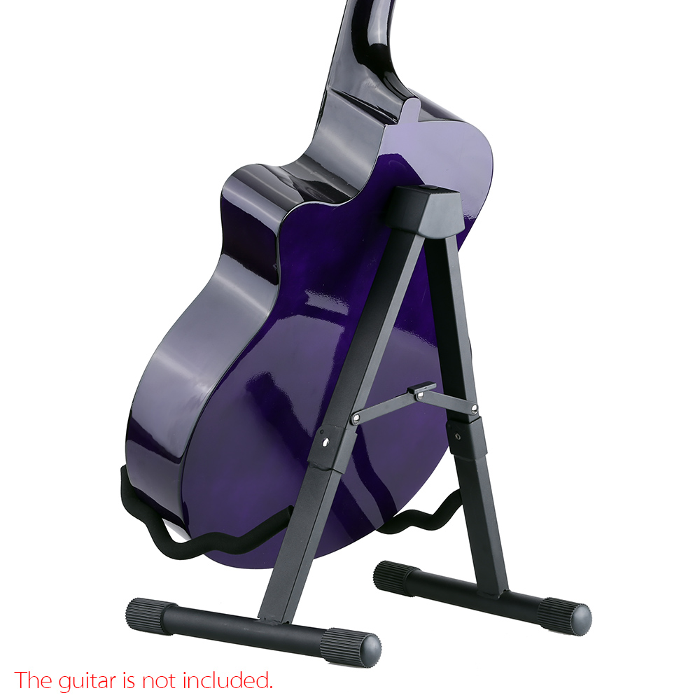 HOT Andoer GS-SP1 Foldable Guitar Stand A-Frame Stand for Acoustic Electric Guitar Bass High quality Guitar Parts(China (Mainland))