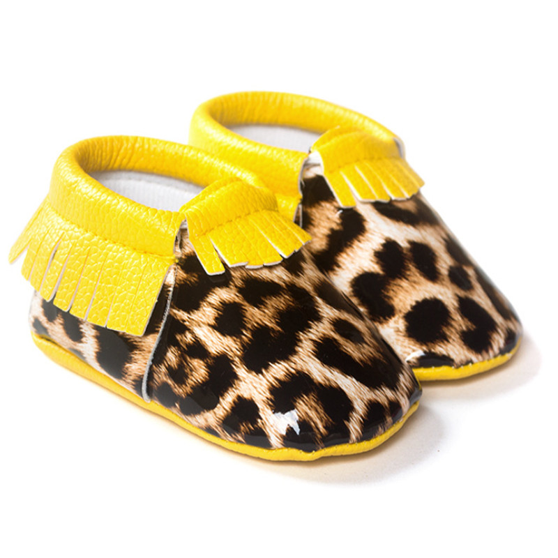 New Hot Cute  Baby Boys Girls Toddler Soft Sole Infant Kids tassel Shoes