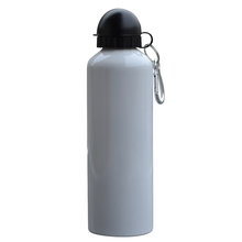 750ml Bicycle Bike Aluminum Water Bottle Camping Hiking Cycling Climbing Outdoor Drinking Drinkware Sports Kettle With Keychain(China (Mainland))