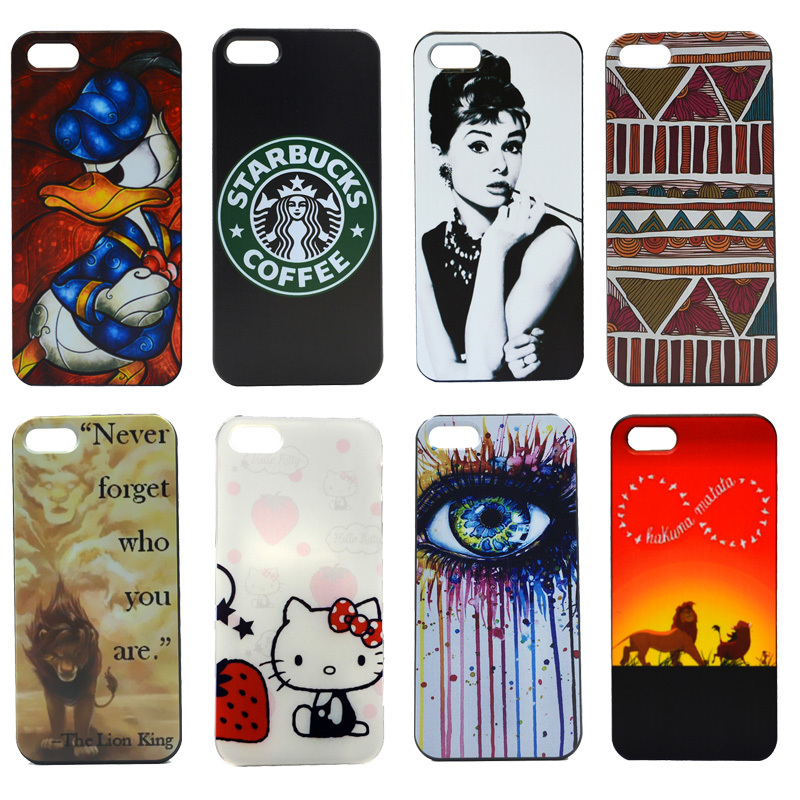 New Arrival Logo Original Charming Custom Skin Painted Protective Mobile Phone Hard Plastic Case For iphone 4/4S Cover(China (Mainland))