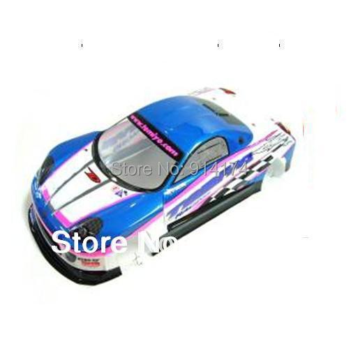 1/10 rc car parts1:10 R/C car  Body Shell 190mm S034B blue free shipping<br><br>Aliexpress