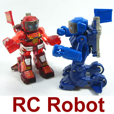 2pcs/lot New 2016 Unique Kid Toyrc Kumite Robot battrobotToys For Children FSWB Remote Control(China (Mainland))