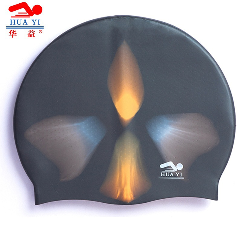 2015 Top Sale Waterproof Swimming Cap Hat Summer Style Silicone Protect Ears Long Hair Reduced Drag For Men And Women SC210(China (Mainland))