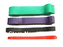 Resistance bands fitness Body Training Strength Bands Group 4 different size bands