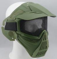 Wargame full face protection face steel mesh mask Skull Airsoft Paintball Wargame Masks cs mask(China (Mainland))
