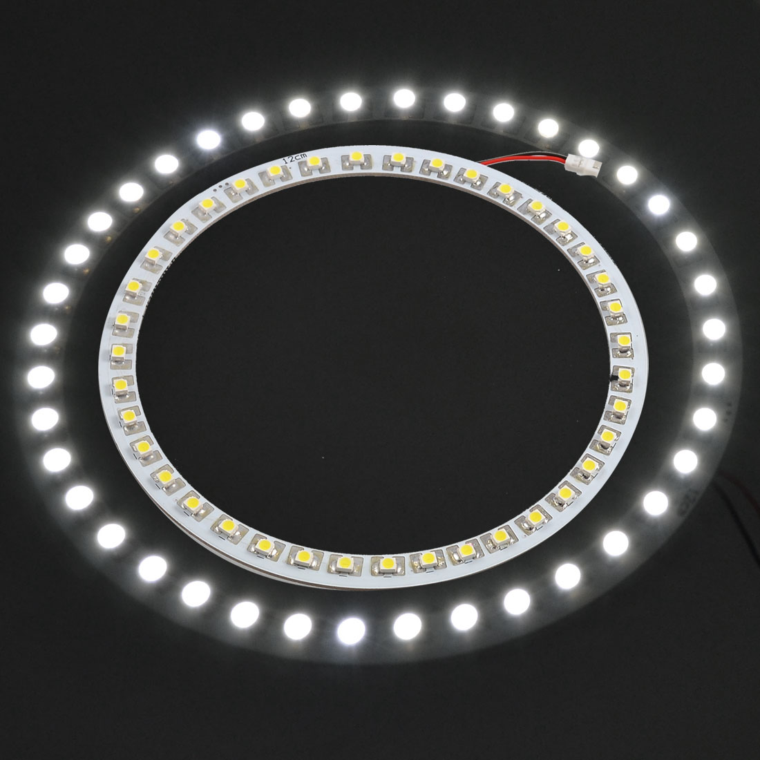 OD 120mm ID 103mm 39 White SMD LED 120mm Angle Eye Head Ring Light Lamp Discount 50(China (Mainland))