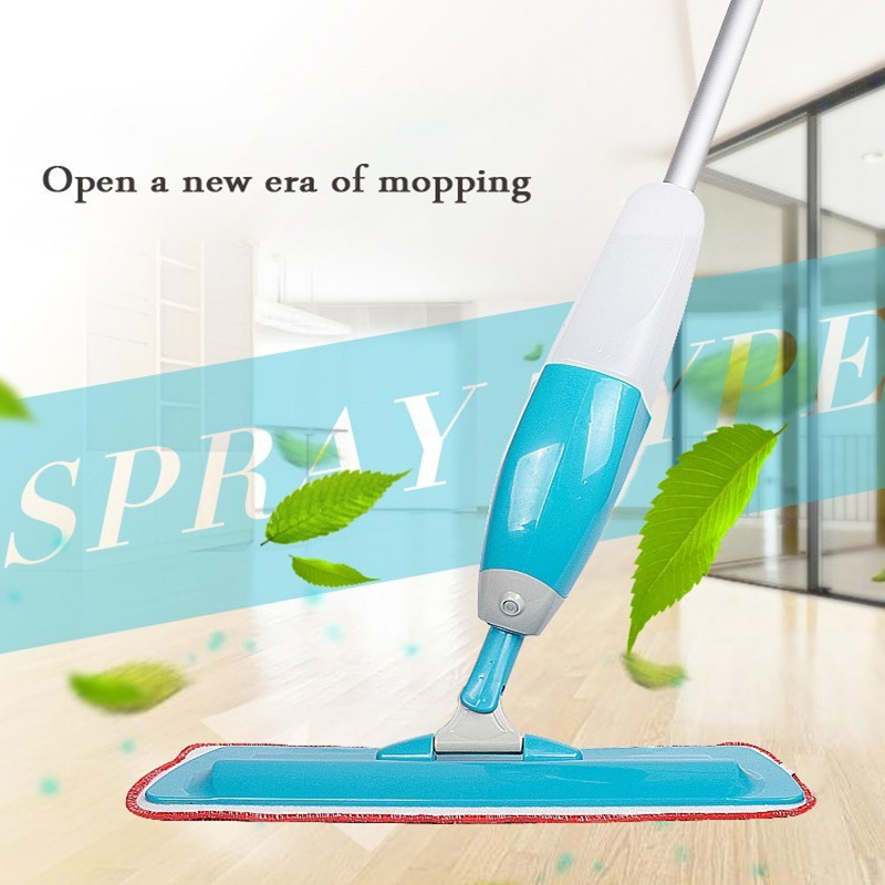 2016 Multi Fabric Cloth Spray Mop Plate Type Water Floor Kit Dedicated Flooring Static Household Broom Floor Cleaner Tools(China (Mainland))