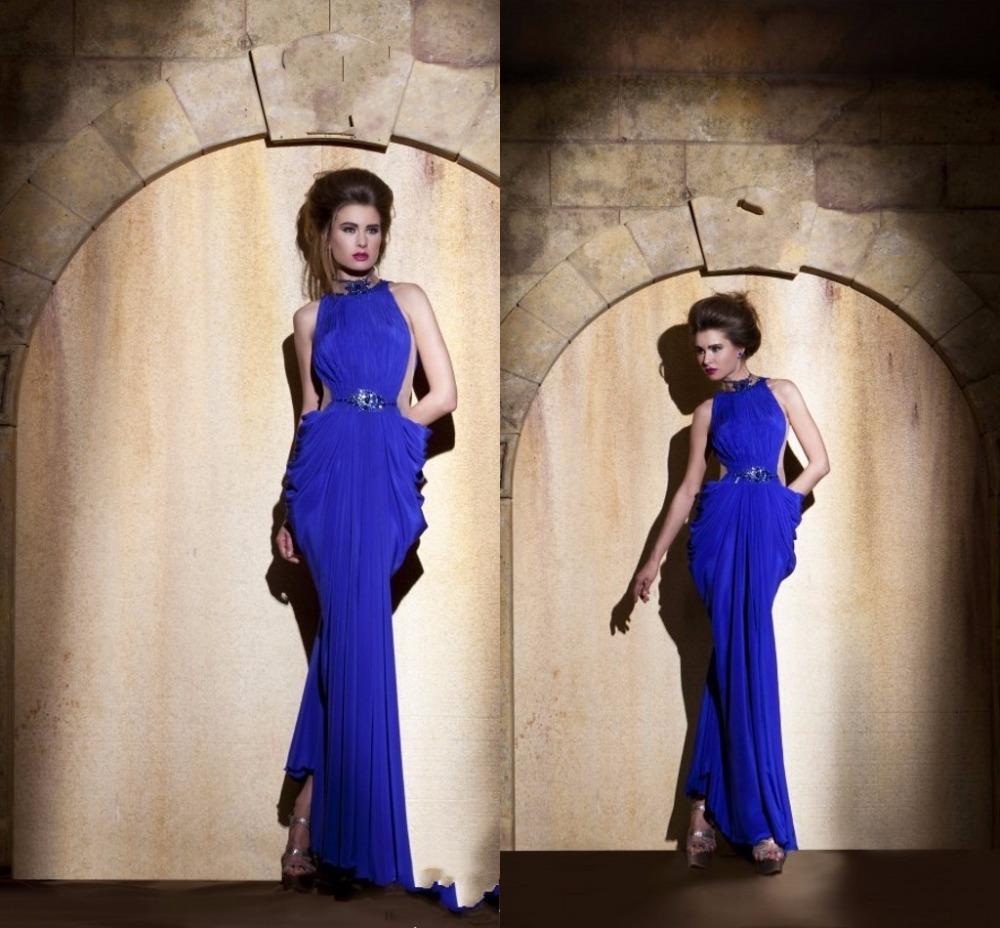 Вечернее платье Royal Blue Evening Dresses 2015 Evening Gowns вечернее платье the covenant of sexy goddess 2015 elie saab vestidos evening dresses