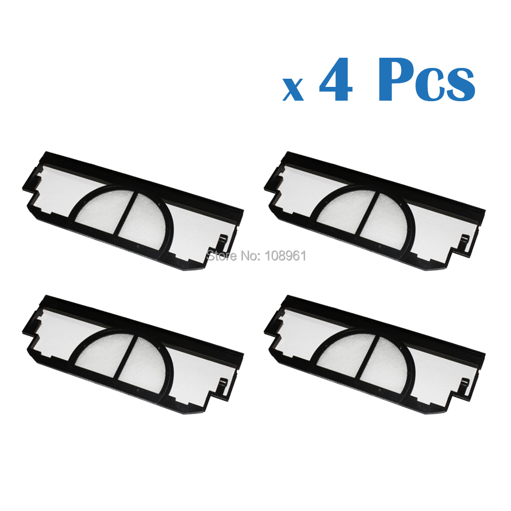 4Pcs For iRobot Roomba 400 Series Vacuum Cleaner Filter Replacement For iRobot 4905 4910 405 415 4110 4210 4225(China (Mainland))