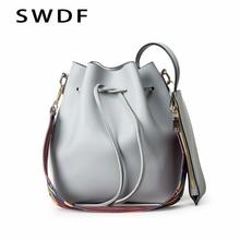 Buy SWDF Luxury Handbags Women Bags Designer Brand Famous Shoulder Bag Female Vintage Satchel Bag Pu Leather Crossbody Shoulder Bags for $11.99 in AliExpress store