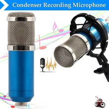 2016 hot sale BM - 800 Dynamic Condenser Wired Microphone Mic Sound Studio for Recording Kit KTV Karaoke with Shock Mount(China (Mainland))