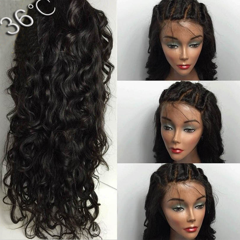 Full Lace Human Hair Wigs For Black Women Virgin Hair 8A Grade Glueless Full Lace Wigs Best Lace Front Wigs With Baby Hair