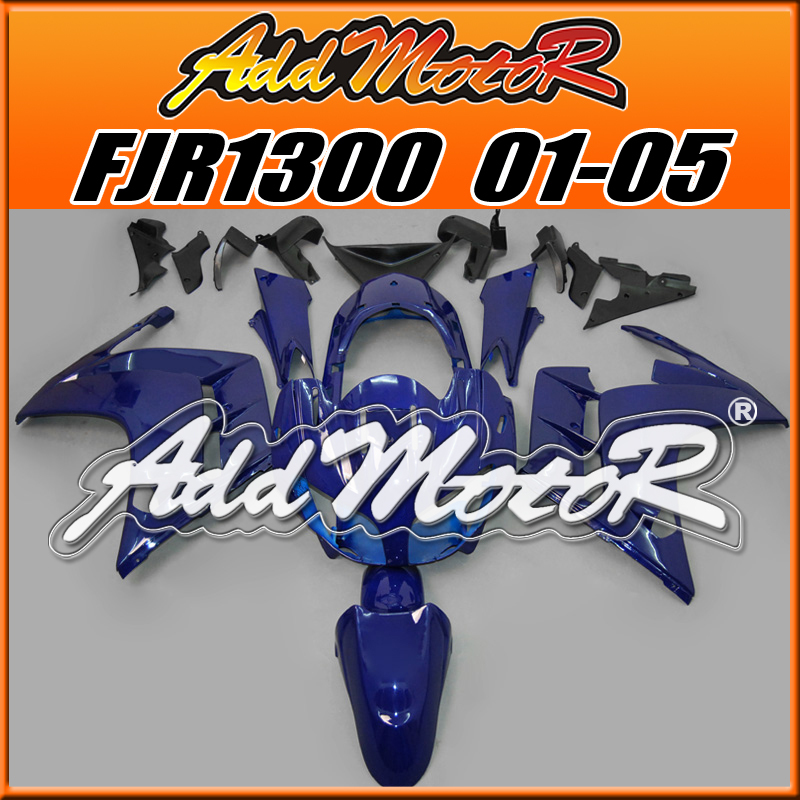 Мото обвесы Motorcycle Fairing Bodywork Addmotor ABS Yamaha FJR1300 01/05 FJR 1300 2001 2002 2003 2004 2005 Y1315 custom road fairing kits for suzuki glossy flat black 2006 gsxr 1000 k5 2005 gsx r1000 06 05 motorcycle fairings kit