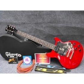 Double Cutaway Hot Red Electric Guitar Free Shipping