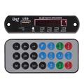 Hot selling USB TF Radio Bluetooth MP3 WMA Decoder Board 12V Wireless Audio Module For Car