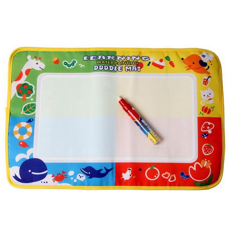45*29cm Water Drawing Toys Mat Aquadoodle Mat Magic Pen Water Drawing Board Baby Play Mat Baby educational toys Lle_001(China (Mainland))