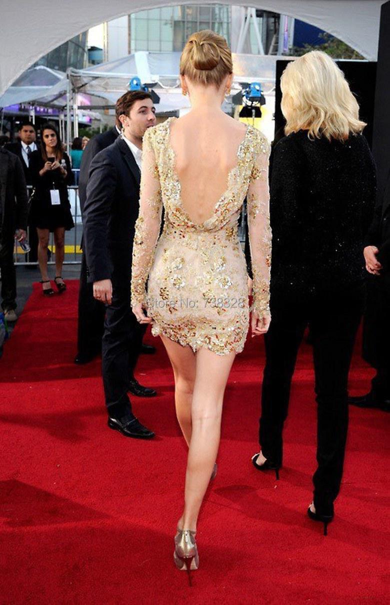 Short Celebrity Dresses