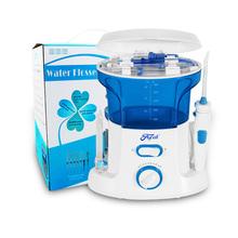 New Oral Teeth Cleaning Water Dental Floss Water Flosser Home Pack Dental Irrigator Pick 7 Pcs Tips, 600ml Water Tank Free ship