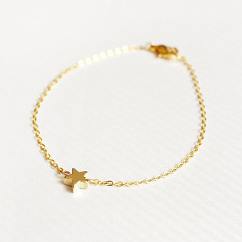 simple gold bracelets for girls wwwimgkidcom the