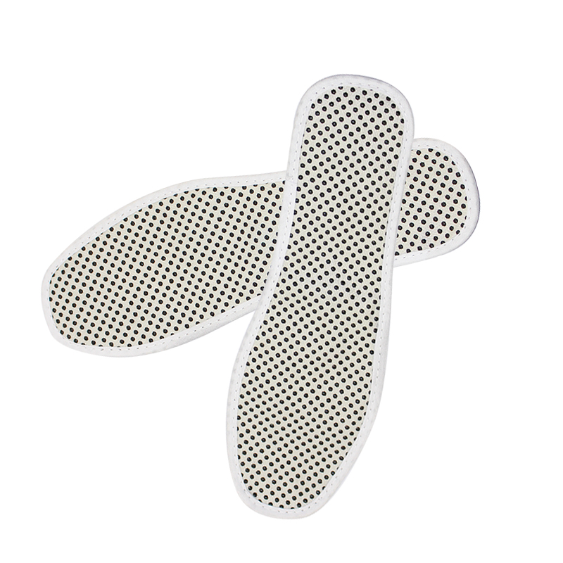 1 Pair Tourmaline Massage Self-heating Magnetic Therapy Insoles Foot Care Massager Cushion Health Care(China (Mainland))