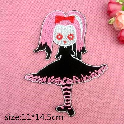 10pcs Halloween Magic Witch TA2yyz embroidered Iron on or sew on Patches clothes badge Stickers Applique DIY accessories PT122(China (Mainland))