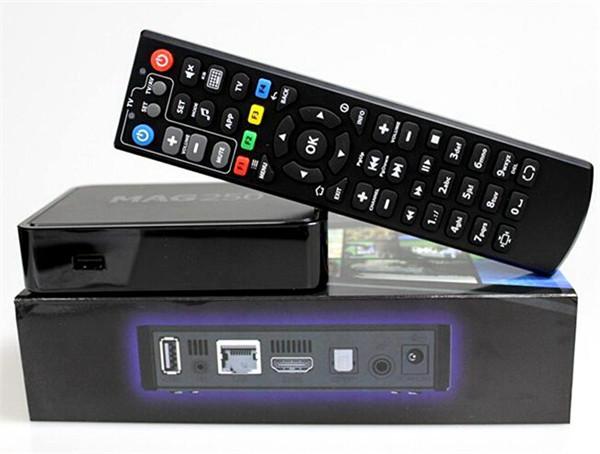 Фотография MAG 250 IPTV Set top box Hot MAG250 IPTV Receiver Linux android tv box WiFi IPTV Set Top Box Processor STi7105 256MB European IP