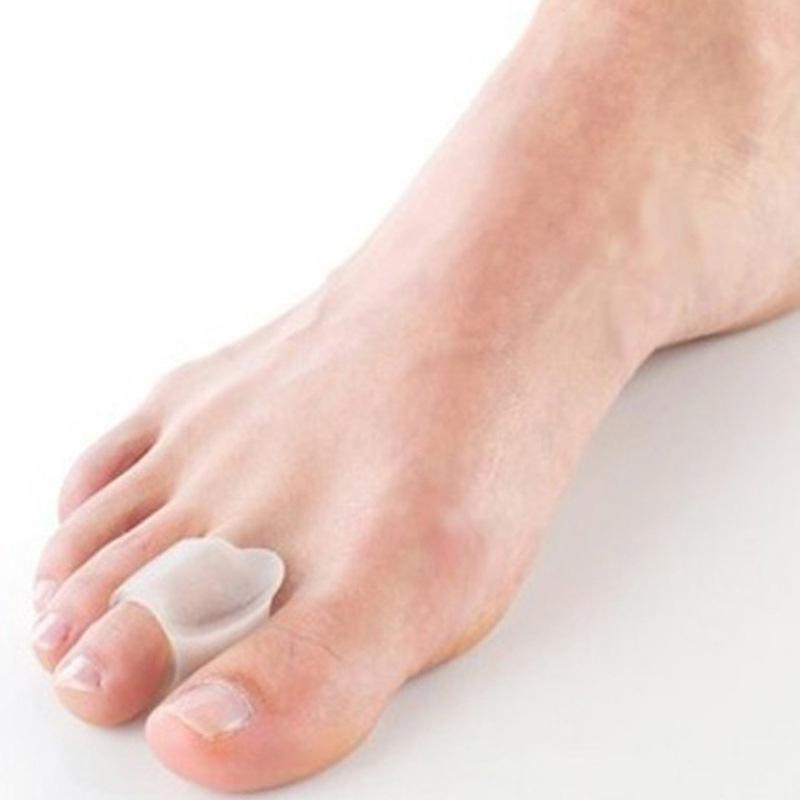 6pair Silicone Gel Bunion Guard Foot Fingers Toe Separator Thumb Valgus Protector Adjuster Hallux Valgus Feet Care Pedicure Foot(China (Mainland))