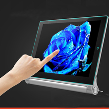 End packaging+ High quality tempered glass Screen protective film For Lenovo Yoga tablet 2 10 1050F 1050 10.1 HD Protection film