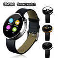 Fashion New DM360 Smart Watches Bluetooth 4 0 Wearable Round smartwatch for IOS And Android For