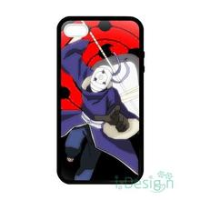 Fit for iPhone 4 4s 5 5s 5c se 6 6s 7 plus ipod touch 4/5/6 back skins cellphone case cover naruto tobi obito