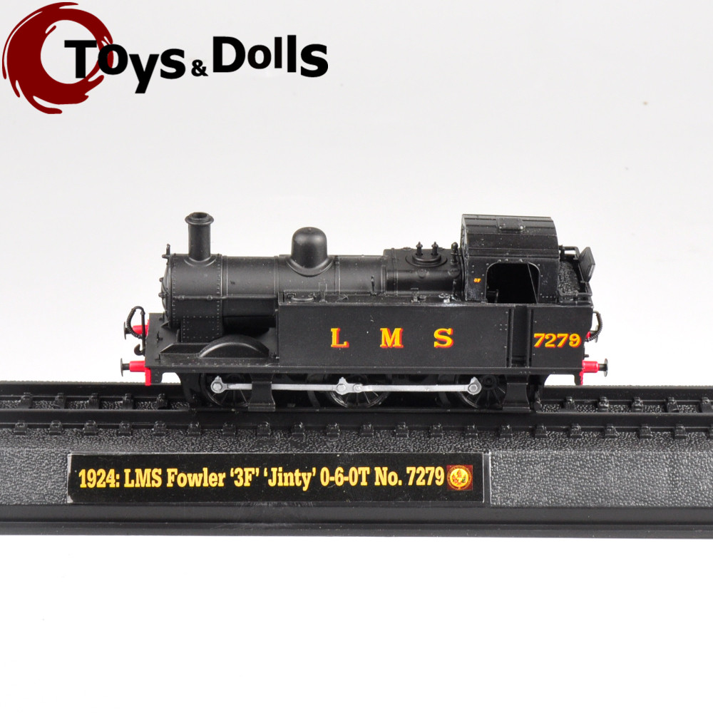 "Limited Collectible AMER 1924 LMS Fowler ""3F Jinty"" 0-6-0T No.7279 Model Train Kids Toys For Children Birthday/New Year Gifts F(China (Mainland))"
