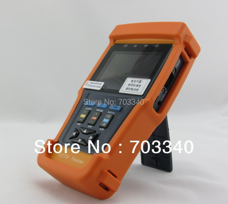 New 3.5 CCTV security camera tester monitor video cable testing PTZ control video digital zoom 12V output<br>