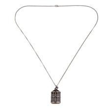 wholesale Cute Bird Cage Retro Quartz Pocket Watch Necklace Pendant Chain girl lady women Gift(China (Mainland))