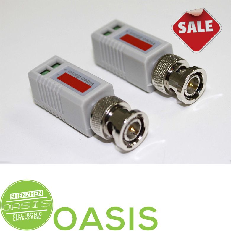 2PCS Mini CCTV BNC Video Balun for Security Suveillance Video System(China (Mainland))