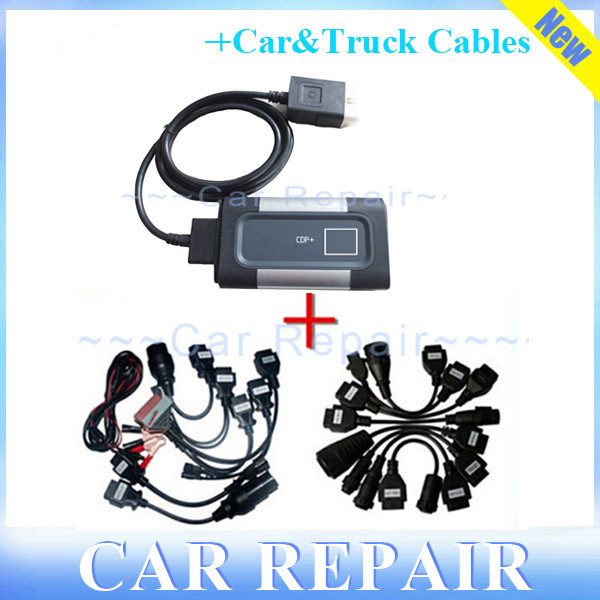 For Autocom TCS without Bluetooth CDP Pro for Delphis Diagnostic Tool for Autocom Cars/Trucks Scanner+Full Car&amp;Truck Cables<br><br>Aliexpress