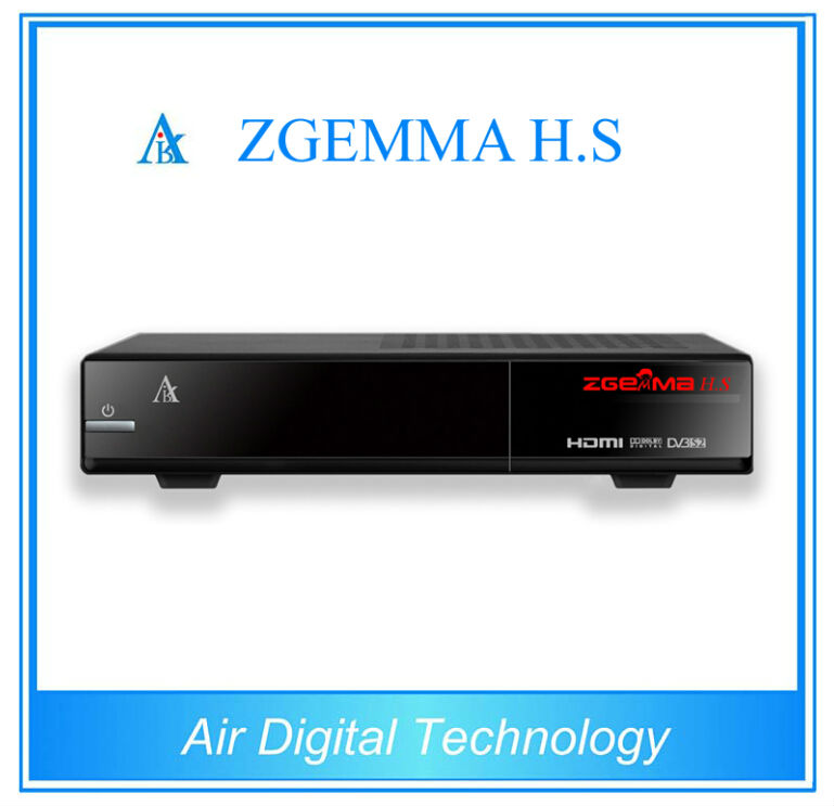 Фотография 2 pcs/lot ZGEMMA H.S digital broadcasting tv box DVB S2 with Enigma2 Linux system