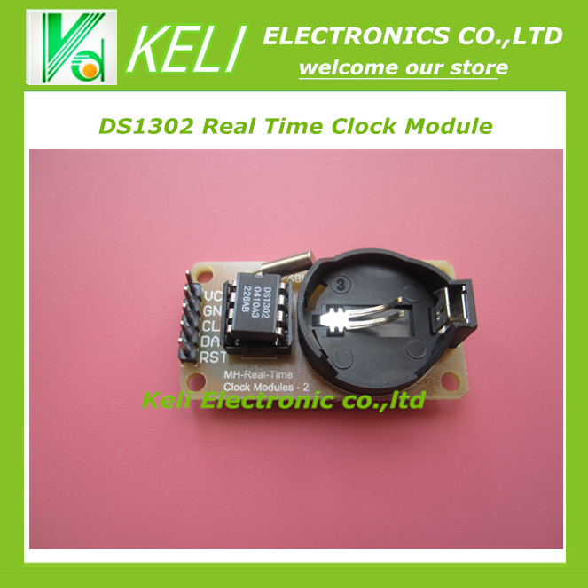 IC DS1302 Real Time Clock Module RTC - Arduino Uno