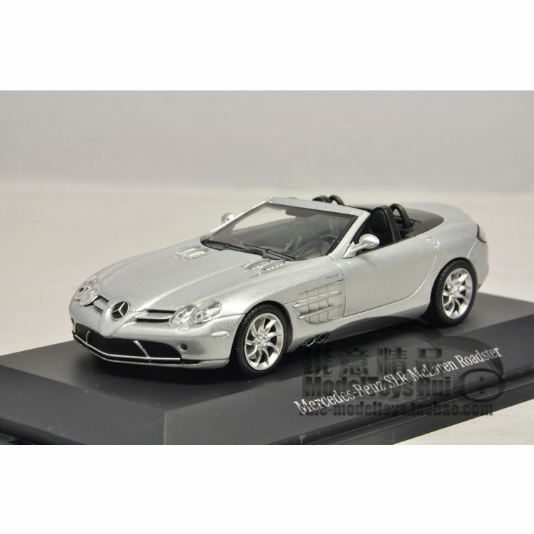 1:43 the German Mercedes Benz factory OEM Benz cut SLR McLaren Mini Roadster car model(China (Mainland))